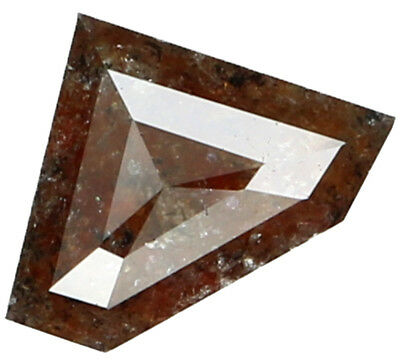 0.83 Ct Natural Loose Diamond Antique Brown I2 Clarity 7.80X5.50X2.70 MM L2792