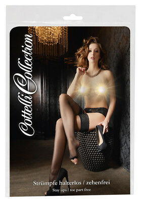 Hold-up Stockings Cottelli Collection calze autoreggenti in materiale molto fine