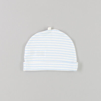 Gorro con rayas en horizontal de color Azul de marca Early days 3 Meses