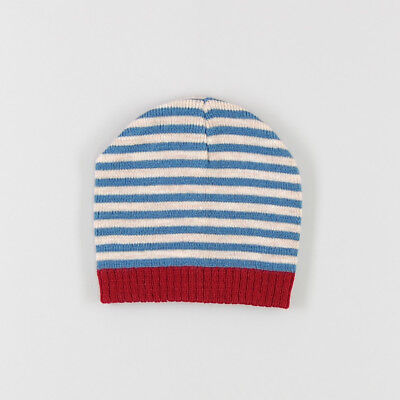 Gorro con raya granate de color Azul de marca Early days 12 Meses  124422