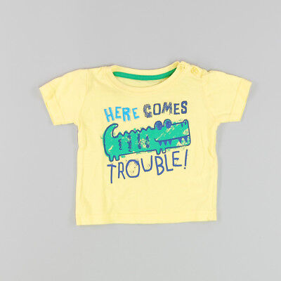 Camiseta color Amarillo marca Early days 6 Meses