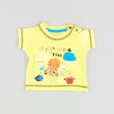 Camiseta color Amarillo marca Early days 3 Meses