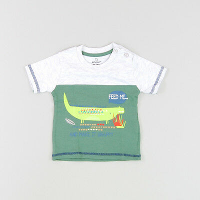 Camiseta color Verde marca Early days 6 Meses