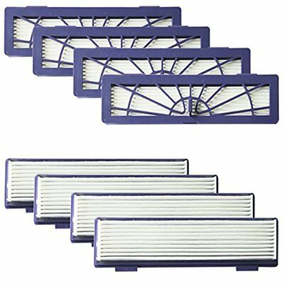 8-pack High Performance Filters All Neato Botvac 70e 75 80 85 & D Series D75 D80