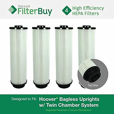 4 - Hoover WindTunnel, EmPower, Savvy Washable Long-Life HEPA Filters, Part 's &