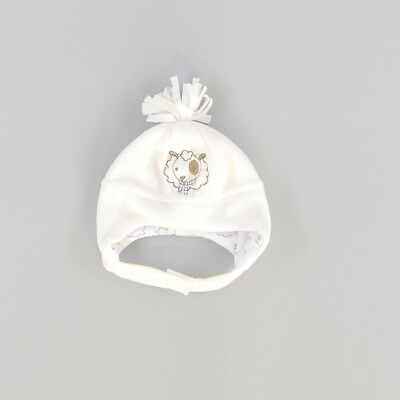 Gorro color Blanco marca Early days 12 Meses