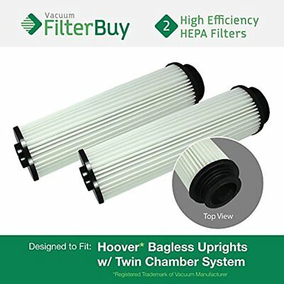2 - Hoover WindTunnel, EmPower, Savvy Washable Long-Life HEPA Filters, Part 's &