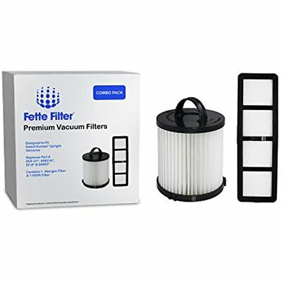 Eureka AirSpeed Compatible Filter Set, Includes DCF-21 & EF-6. Replaces Part For