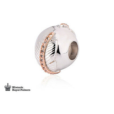 NEW Clogau Silver & Rose Gold Falcon Feather Milestones Bead Charm £100 off