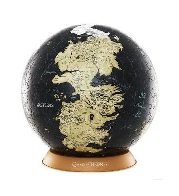 Game of Thrones - 3D Globe Puzzle Unknown World (60 Teile)