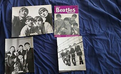 THE BEATLES,*GENUINE ORIGINAL*  MONTHLY BOOK No1, FROM AUGUST 1963 + more
