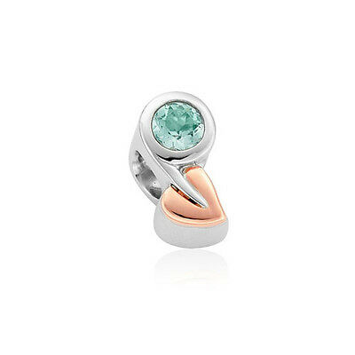 NEW Clogau Silver & Rose Gold Tree of Life Birthstone Charm £100 off! DECEMBER