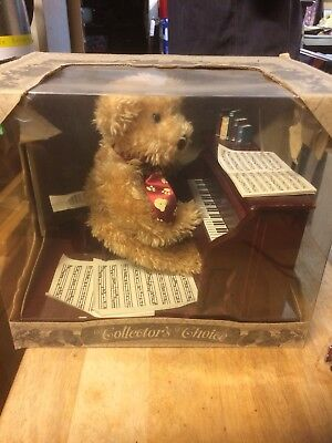 Collectable Bear Playing Piano