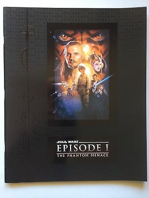 Star Wars Episode I The Phantom Menace Souvenir Film Program