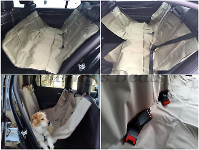 Premium Quilted Pet Hammock Rear Seat Cover SKODA SUPERB ALL YEARS
