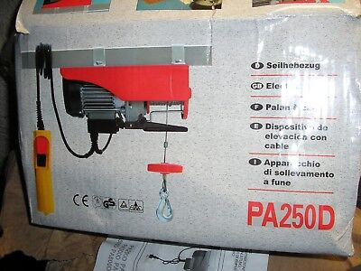 240v electric hoist