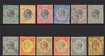 Africa 12 Stamps Mounted Mint and Used