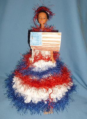 Barbie Limited Edition Handmade Outfit by French Artist  OOAK Great Xmas Gift