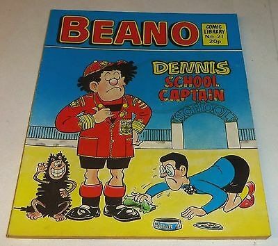 Two Vintage Beano Comic Libraries #21 & #55