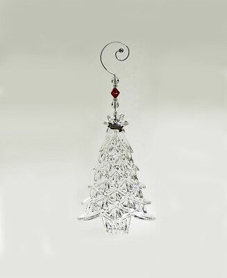 Waterford Crystal Christmas Tree Hanging Ornament NEW Boxed RRP £40