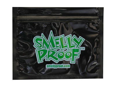 10 x Smelly Proof Bags Black or Clear - All sizes - Food safe, Child safe
