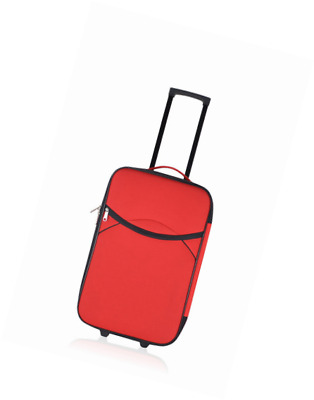 Unanyme Georges Rech Bagage Cabine, 51 L, Rouge