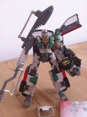 Transformers Robots in Disguise Super X-Brawn (RiD 2001 Komplett)