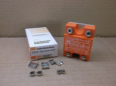 S505-OSJ425-009 Continental NEW In Box 25A SSR Solid State Relay S505OSJ425009