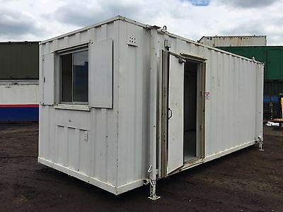 Portable Site Office 20ft by 8ft Anti Vandal Steel (More Available)