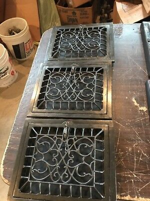 T 17 3 available price each 10 x 12 swirly wall mount heating Grate