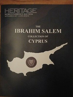 Heritage Auction Catalog Abraham Salem Collection Cyprus Currency Sep 2017 Ca