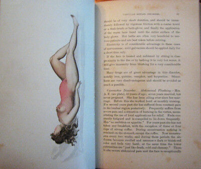 Rare 1896 Antique Medical Book Color Plates Nervous System Disorders of Women