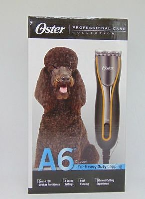 Oster A6 Clipper Oster 078006-000 A6 Heavy Duty Clipper w/Detachable Blade #10