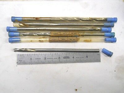 """5- Usa Made Metal Removal Co 1/4"""" Special Length  Drill 6"""" Long"""