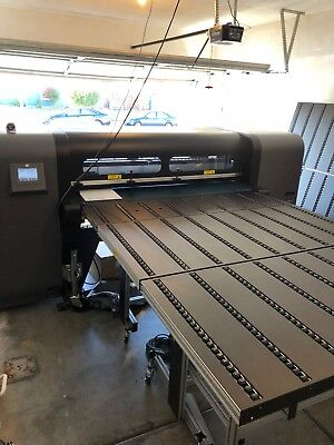 HP FB 550 Low Hours Flatbed Printer