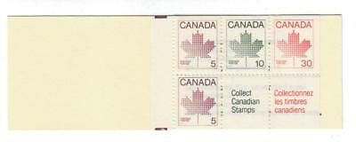 1982-1985 Canada SC# BK 82a Maple Leaf Isssue - uncoated paper M-NH
