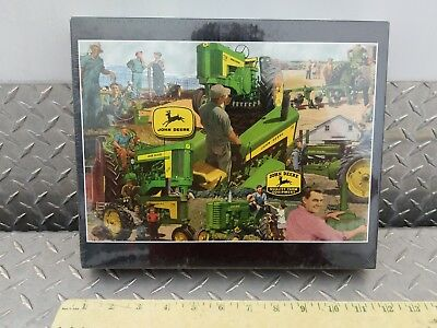 John Deere Tractor Puzzle break time 730 620 a model Putt-Putt brand new sealed!