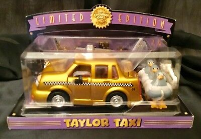 "Collectible Chevron Cars/ Nib / Taylor Taxi 2001 "" Limited Edition"""