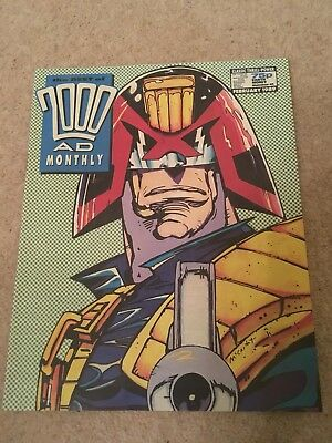 2000 AD Monthly. Feb 1989 No 41
