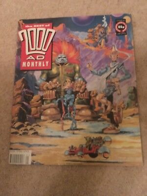 2000 AD Monthly. Jan 1991. No 64