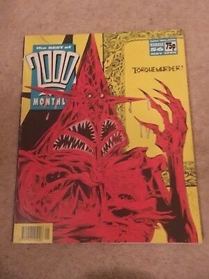 2000 AD Monthly. May 1990. No 56