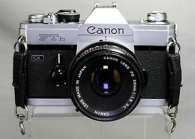 First-Rate Canon FTb-QL w/50mm 1.8 S.C. Lens Looks and Works Great