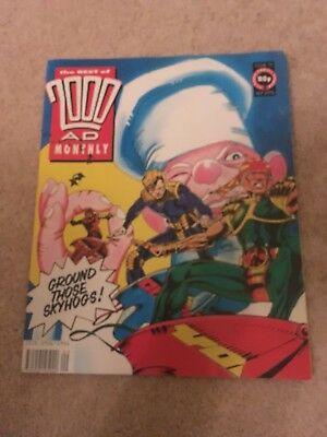 2000 AD Monthly. Sept 1991. No 72