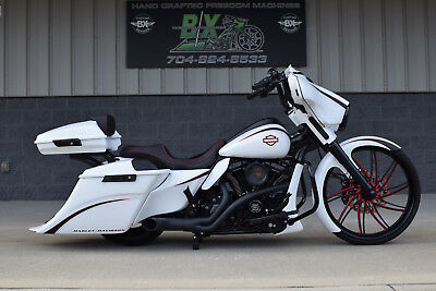"2017 Harley-Davidson Touring  17 STREET GLIDE BAGGER *1 OF A KIND* 26"" WHEEL! OVER $40K IN XTRA'S!! WOW!!"