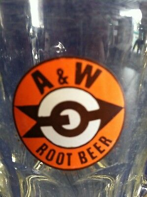 A&W Root Beer Glass Mug 4 1/4""