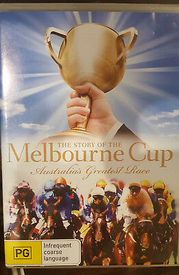 The Story Of The Melbourne Cup Dvd Rare Horse Racing Australia's Greatest Race