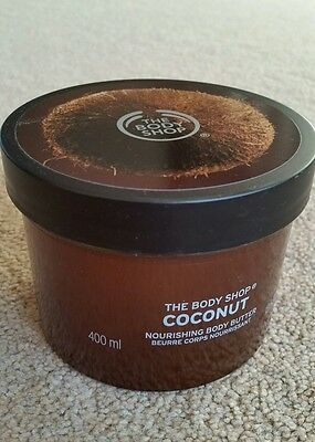 The Body Shop New Double sized Coconut Body Butter - 400ml.RRP £30.