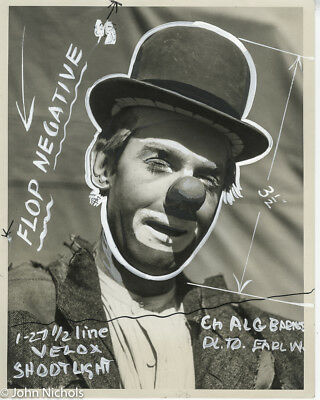 Proofs For Circus Posters, Al Barnes, 17 Photos with Gouache and Ink Retouching
