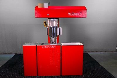 9 lbs Complete Commercial Coffee Roaster | 45 lbs Per Hour Capacity Machine