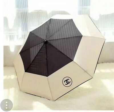New Vip Dual Color Umbrella With Quilted Bag And Gift Box (Not Camellia Flower)